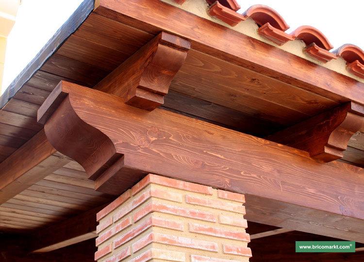 Hispabrezo sombrillas brezo tumbonas pergolas - Pergolas de obra ...